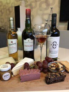 wijn en kaasplankje